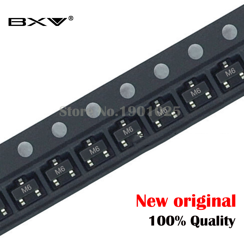 100PCS S9015 SOT-23 9015 SOT M6 SMD New And Original