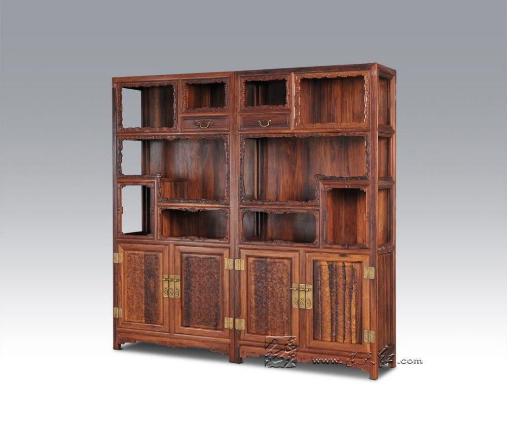 En Bois Massif Stockage Biblioth Que Salon Bureau Classeurs  # Modele Classeurs De Salon