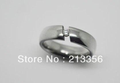 2 pièces/paire livraison gratuite pas cher prix USA vente chaude 8mm carbure de tungstène cubique zircone Tension mariage unisexe anneau de mariage - 3