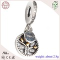 High Quality Trendy  925 Sterling Silver Family Hanging Charm