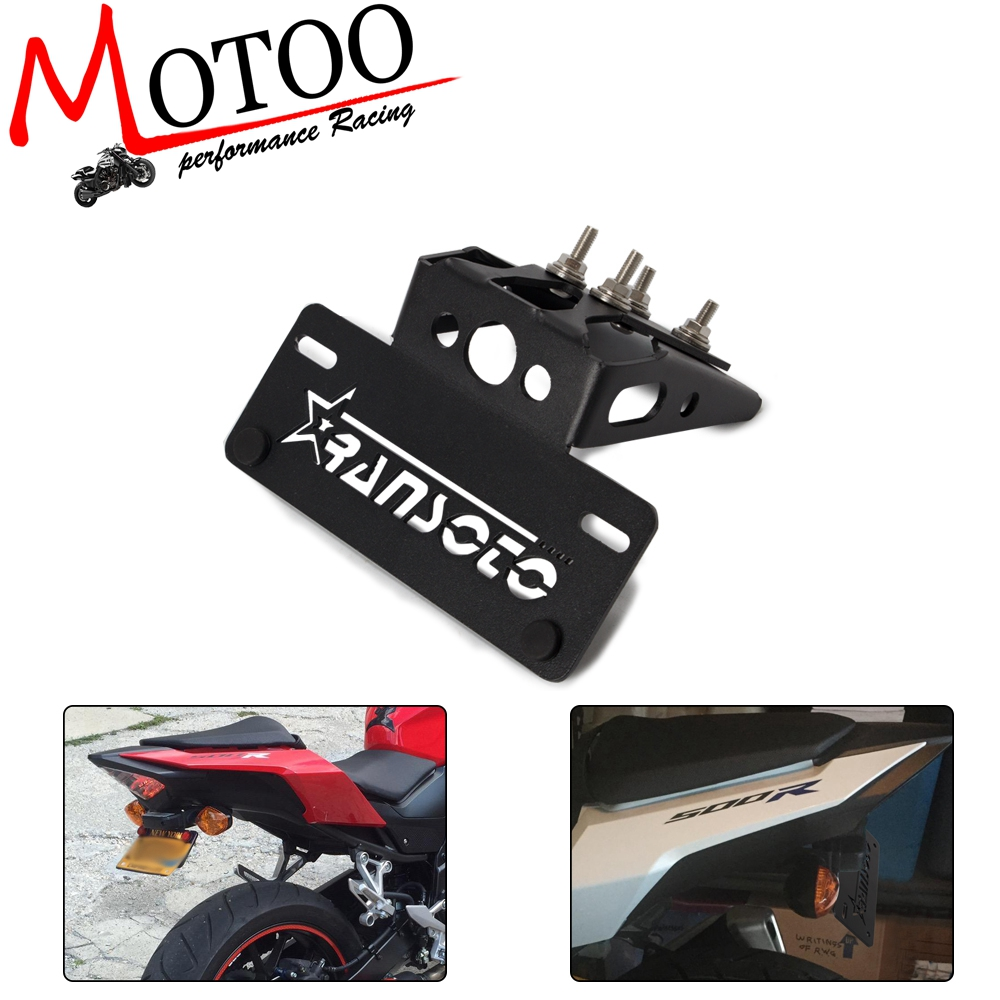 Motorcycle Eliminator License Plate Frame Bracket For Honda CBR500R <font><b>CB500F</b></font> 2016 2017 <font><b>2018</b></font> 2019 image