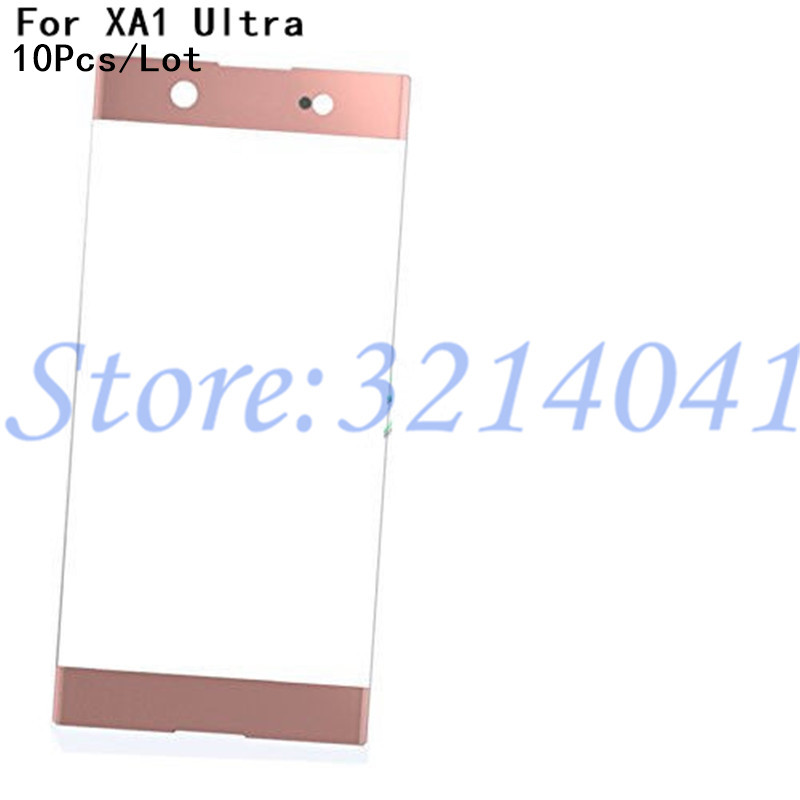 10Pcs Original 6.0 inches Touch Screen Outer Panel Top Lens Cover For Sony Xperia XA1 Ultra G3221 G3212 G3223 G3226 Front Glass