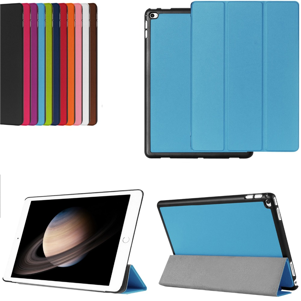 Ultra Thin Folding folio Smart Case Tri-folding Wake Up Sleep Protective Stand Holder Pu Leather Cover For Apple iPad Pro 12.9 case cover for kindle paperwhite 123 ebook pu leather folio flip smart sleep wake up protective case cover vintage texture