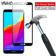 9H Full Coverage Tempered Glass For Huawei Honor 7A Pro AUM-AL29 7A 5.45 For Honor 7C AUM-L41 5.7 7C Pro Screen Protector Sklo jonsnow for huawei honor 7c 5 7 aum l41 tempered glass lcd screen protector for honor 10 9 8 7a 7c pro aum l29 protective film