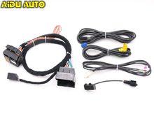 Adaptador de Radio para coche, arnés de Cable para Golf 7 MK7 Passat B8 MQB TIGUAN POLO 6C MIB 2 ZR NAV Discover Pro