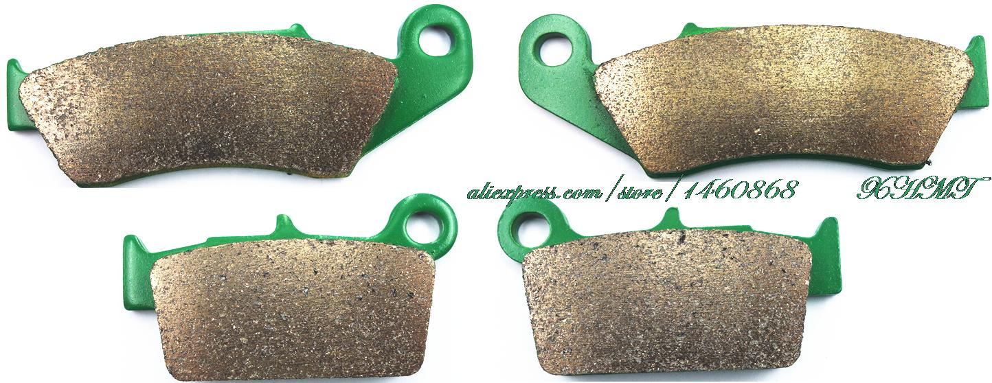 Brake Shoe Pads Set For Yamaha Yz125 Yz 125 2003 2004 2005 2006 2007 / Yz250 Yz 250 03-07/ Yz 250 F 03-06/ Yz450 Yz 450 F 03-07