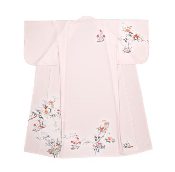 Japanese Kimono Outer Garment Bathrobe Costume Girl Dress Japanese Performance Kimono Woman Working Clothing