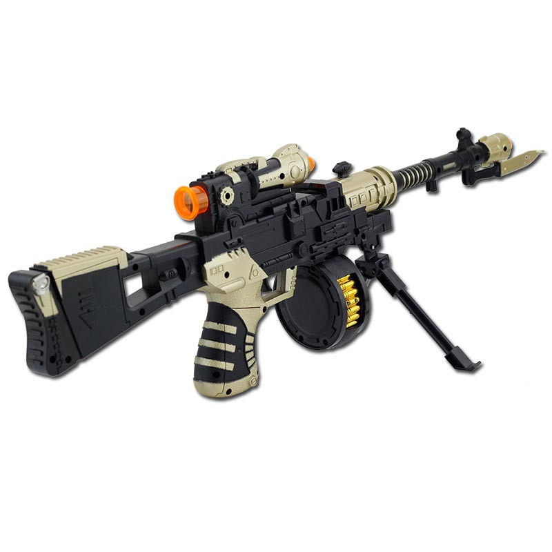 Camouflage imitation guns telescopic shock gun with lights and music Child  electric gun rifle pistol sniper rifle-in Toy Guns from Toys & Hobbies on  ...