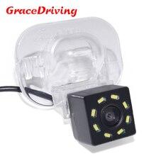 Promotion Car CCD 8LED Night Vision Reverse Parking Waterproof  Rear View Camera For Hyundai Verna Solaris Sedan For Kia Forte