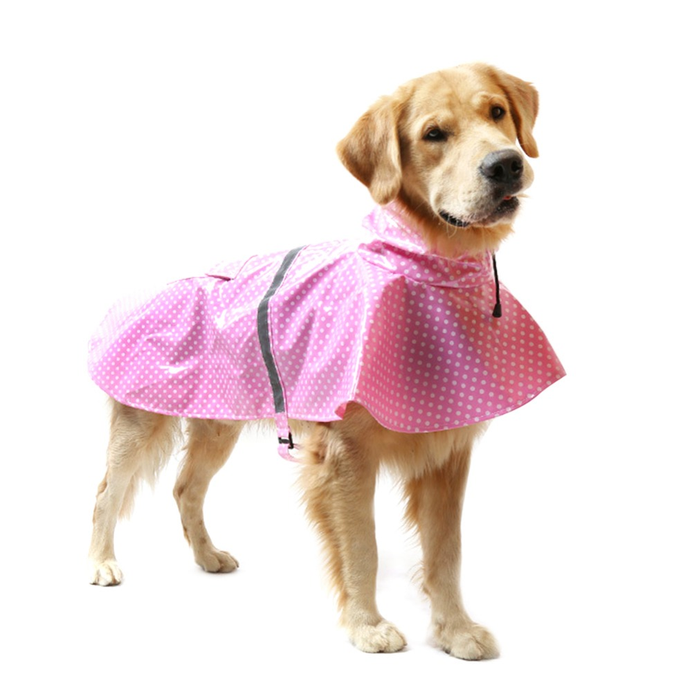 Dog Clothing & Shoes Shop For Cheap 2018 Hot Sell Raincoat For Dog Pet Raincoat Dot Rain Jacket Clothes For Dog Warm Waterproof Coat Lovely Hoody Rain Coat For Dogs Buy One Give One Home & Garden