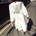 2016 novas mulheres da moda verão de proteção solar protetor solar casaco hooled jaquetas com zíper manga longa mulheres clothing tops plus size c231