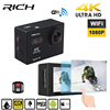 RICH S35 4k Wifi Ultra HD Waterproof Digital DV Action Camera Sport Helmet Cam Full HD