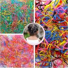 Sale 300pcs Girl Rubber Ponytail Elastic Hairband Rope