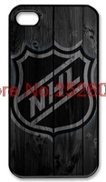 NHL logo wood backgroup cover case for Samsung Galaxy s2 s3 s4 s5 mini s6 edge Note 2 3 4 iPhone 4s 5s 5c 6 Plus iPod touch 4 5