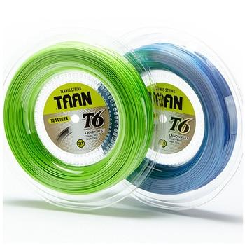 1 Reel TAAN T6 Tennis Racket String 200m Tennis Strings 1.18mm Soft Comfortable Tennis Racket strings фото