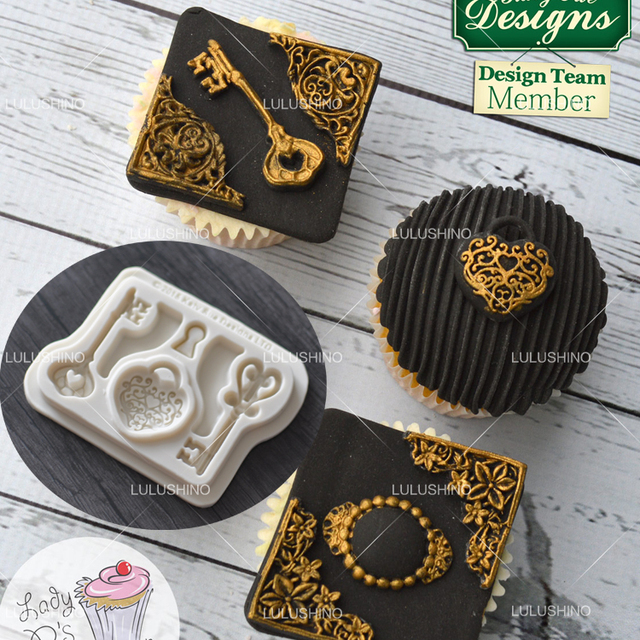 Herzform Silikon Fondant Kuchen Dekorieren Werkzeug Schokoladenform