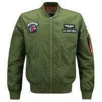 U.S. AIR FORCE Bomber Jacket Men Windbreaker Jacket Military Style Jacket Men Flight Jacket Casual Veste Homme Plus M-6XL