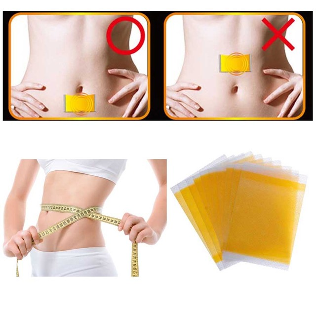 20Pcs Slimming Navel Stick Slim Patch Weight Loss Burning Fat Patch Fat Burning Health Care Chinese Herbal Medical Plaster D0723