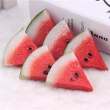 8pcs Artificial Watermelon Slices Fake Fruits Artificial Fruit Lifelike Decorative Fruits For Party Kitchen Home Decor(China)