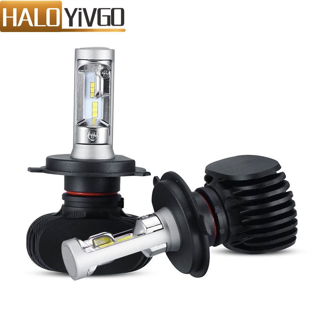 <font><b>LED</b></font> Car Headlight H4 <font><b>H7</b></font> H1 9012 9005 9006 880 9007 H11 H13 <font><b>LED</b></font> Bulb Hi/Lo Beam 50W 8000lm 6500K Auto <font><b>LED</b></font> <font><b>Head</b></font> <font><b>Lamp</b></font> Fog <font><b>Light</b></font> 12V image