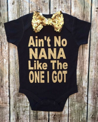 I love NANA Cute Newborn Baby Girl Boys Cotton Romper Jumpsuit for Kid clothes toddler Children 3 Color Outfits 2019 Summer NEW 1