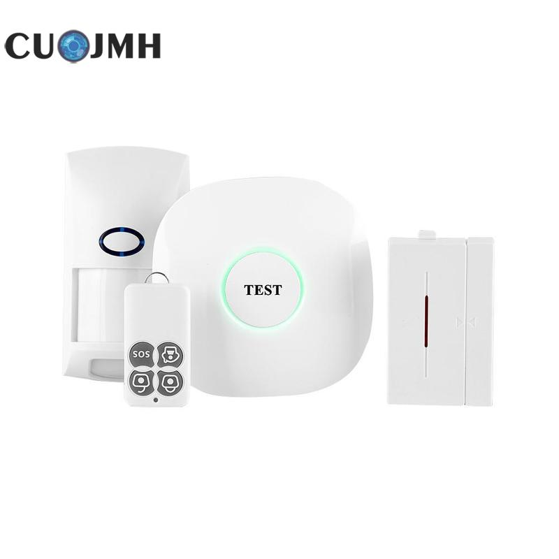 1 Set Wireless Home Alarm Wireless GSM Autodial SMS Home House Office Security GSM intelligent Anti-Theft Alarm System ceyes car styling car emblems case for nissan nismo juke x trail qashqai tiida teana car styling auto cover accessories 4pcs lot