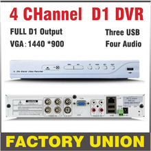 DVR 4 channel H 264 Full D1 CCTV DVR Recorder 4ch support Network Mobile Phone cctv dvr 4ch digital video recorder system