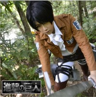 Cosplay Japanese Anime Attack on Titan Mikasa Ackerman/Eren Jaeger/Levi Ackerman BOY/Girl Survey Corps Suit Cos Clothes