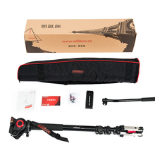 Professional Aluminum Portable Camera monopod with Hydraulic Head