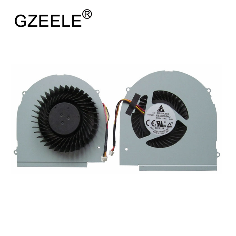 GZEELE NEW Laptop CPU Cooling Fan cooler For LENOVO Y580 Y580M Y580N Y580NT Y580A Y580P 4 PIN Notebook cpu cooler fan Computer аксессуар чехол sony xperia xa1 brosco gold xa1 bmp gold