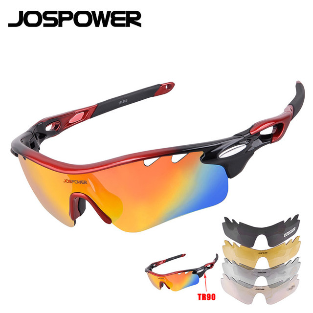 6ff64bc720dc JOSPOWER Polarized Cycling Glasses TR90 Bike Eyewear Outdoor Sports  Sunglasses MTB Driving Riding Fishing Glasses Gafas ciclismo