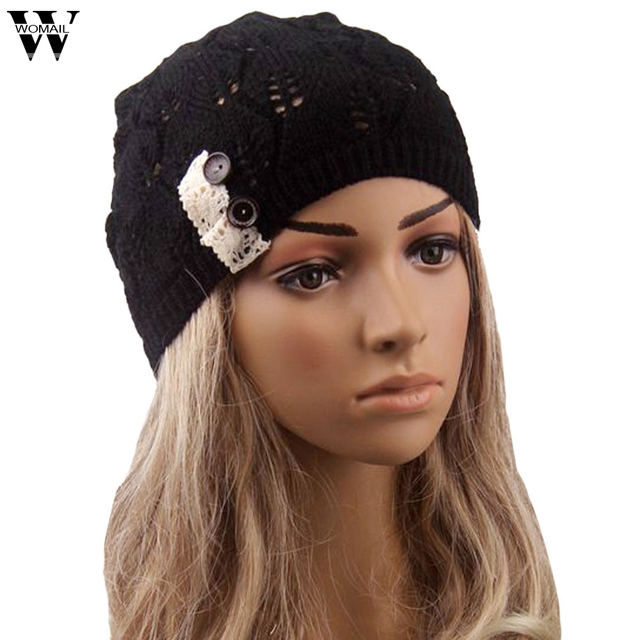 Amazing Winter Cap Women Hats and Caps Knit Hat Beanie Free Shipping