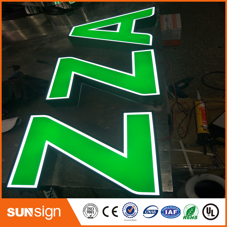 Stainless Steel Outdoor 3D Channel Letters