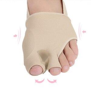 Image 5 - 1 paar S/L SEBS Big Toe Bunion Splint Corrector Foot Pain Relief Hallux Valgus für beide füße therapie Einfach zu tragen