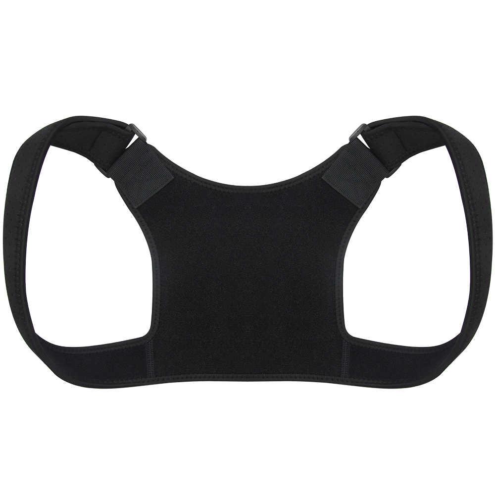 Новый Корректор осанки пояс для поддержки спины повязка на плечо корсет для спины ортопедический Корректор осанки позвоночника облегчение боли в спине