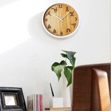 Yoga Style Large Decorative Wall Clock