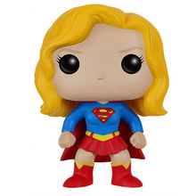 DC Action Figure Justice League Supergirl Doll PVC Model Toys 35cm avengers 3 incredible hulk robert bruce banner justice league pvc action figure dc comics collectible model toy l2016