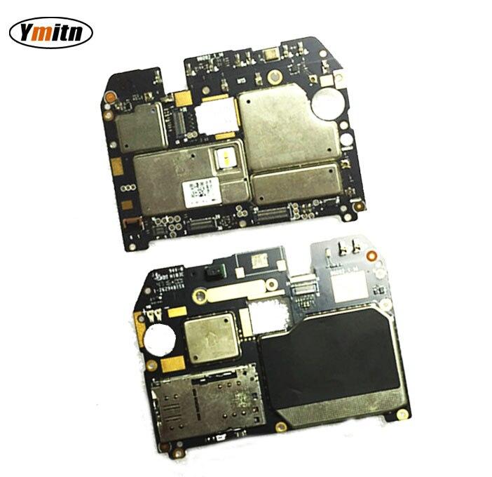 Ymitn Débloqué Électronique Panneau Carte Mère Carte Mère Circuits Flex Câble Avec Firmware Pour Meizu Meilan M5 note5 note 5