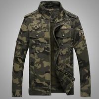 2016 Nova Famosos dos homens Algodão Ocasional Outerwear Uniforme Do Exército Militar Dos Homens Casaco Jaqueta Casaco jaqueta de camuflagem das forças Especiais