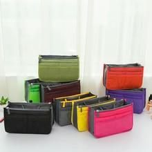 Shushi Makeup Bag Travel Hygiene Kit Tote bag Women handbag Case Vanity Cosmetic Necessaire Female Bag Handbag Organizer Insert