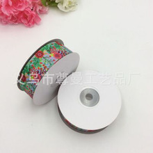 Ribbon 2.5cm Wide DIY Digital Printing Sublimation Clothing Shoes Gift Box Material Accessories Small Flower Series