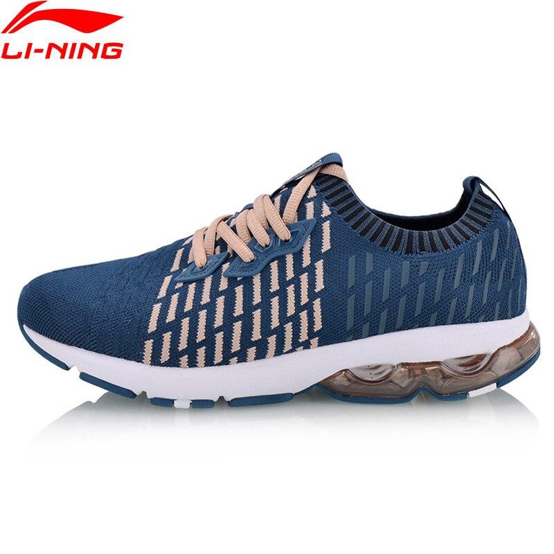Li Ning Women BUBBLE ARC 2018 Running Shoes Mono Yarn Cushioning Sock LiNing Sport Shoes Sneakers