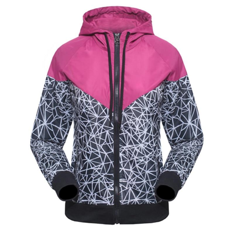 2015 marca deportivos mujer chaqueta informal con capucha