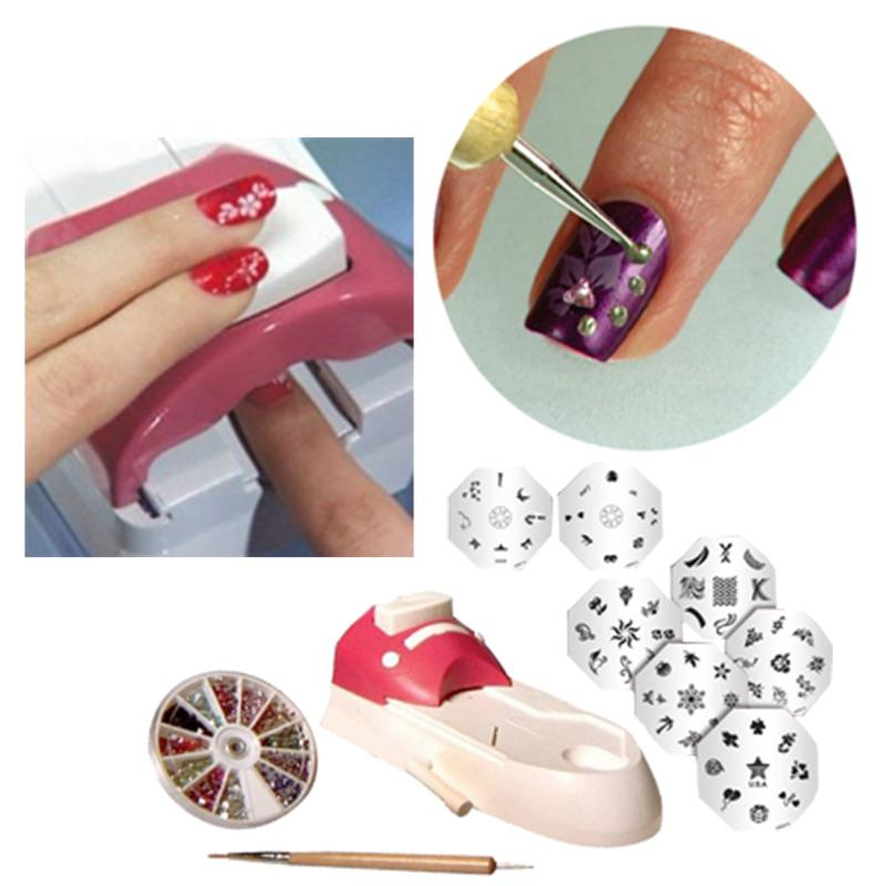 Nail Art Tool Kit: New Nail Beauty Tool Nail Painting Arts Device Tool Kits