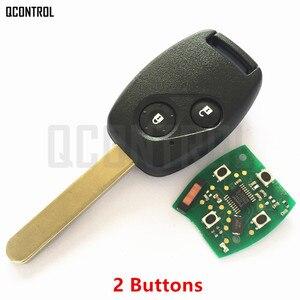 Image 2 - QCONTROL Car Remote Key Suit for Honda CE0891 HLIK 1T Accord Element Pilot CR V HR V Fit Insight City Jazz Odyssey Fleed 433MHz