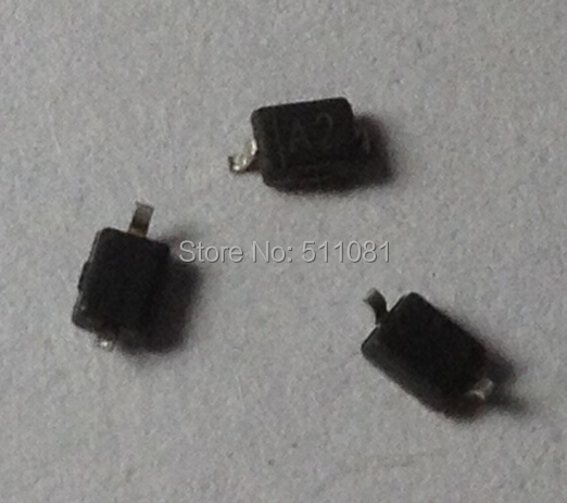 100 PCS Making A2 W2 1N4148 SMD 0805 SOD-323 Switching Diode 1N4148WS 0805(SOD323)