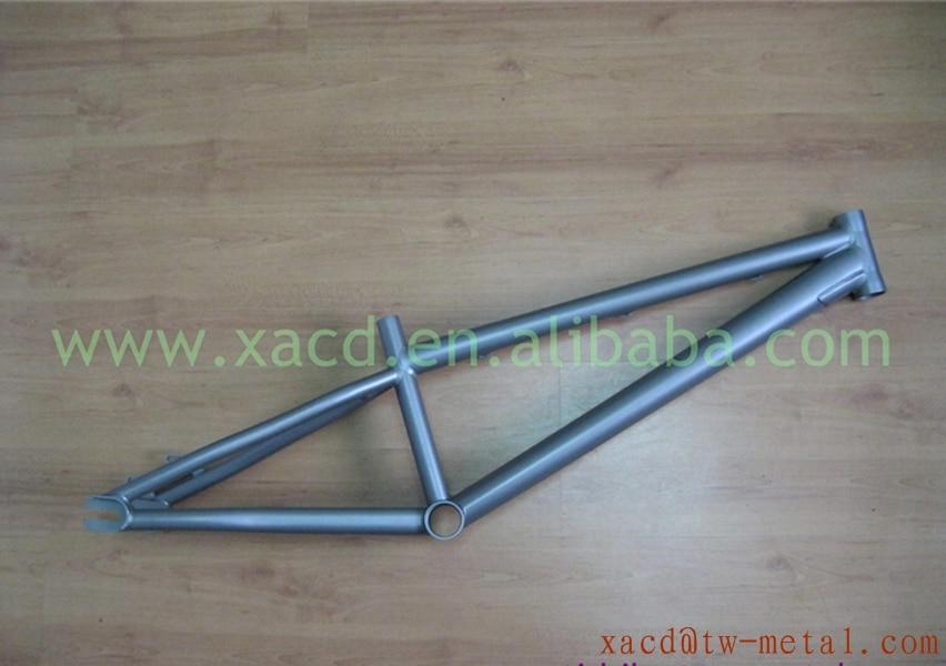 BMX bicicleta de titanio marco personalizado Ti Ti BMX cuadro de la ...