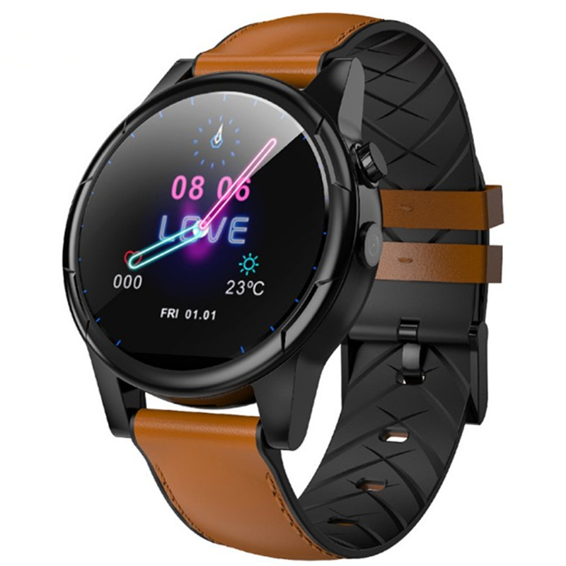 1.6 inch business smart watch WiFi 4G network 3G+32G bluetooth smartwatch <font><b>smartphone</b></font> sports heart rate GPS Sim card mobile phone image