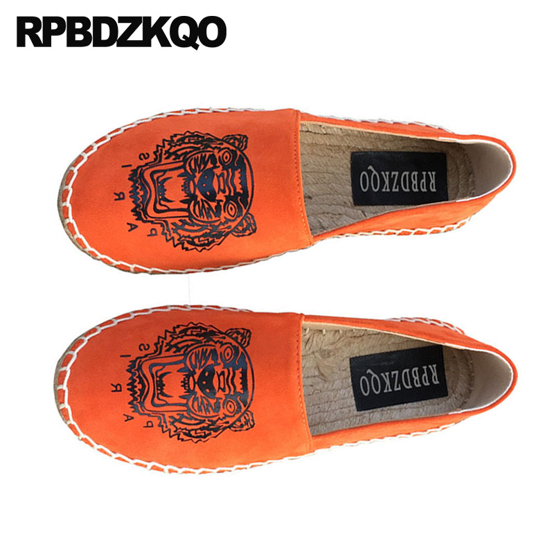 vintage fisherman shoes large size hemp embroidery canvas espadrilles 2019 peach handmade flats women   suede   embroidered chinese
