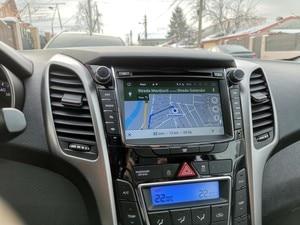 "Image 5 - 7 ""IPS Bildschirm Android 9.0 Auto DVD Radio Player Für Hyundai i30 Elantra GT 2012 2016 2 Din Video GPS Navigation Stereo Multimedia"